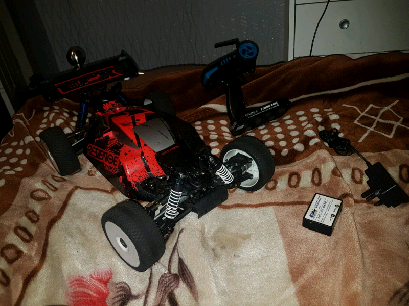 Rc brushless car traxxas hobao kyosho hpi 1/8 not nitro or petrol  | in  Chadderton, Manchester | Gumtree