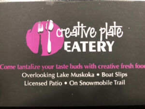 Hiring Servers & Kitchen Staff for Busy Summer Season in Muskoka
