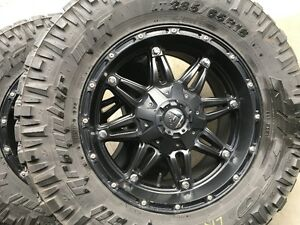 Fuel Hostage rims/ Nitto Trail Grappler-- 33's