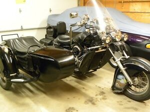 2001 Kawasaki Drifter(Indian replica) with removable sidecar