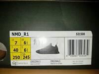 ADIDAS NMD TRIPLE BLACK UK 6.5 \ US 7 DEADSTOCK