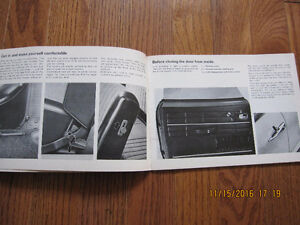 1968 1500 Karmann Ghia Owners Manual Sarnia Sarnia Area image 3