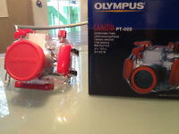 Boîtier sous-marin pour appareil photo Olympus