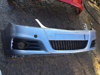 Vauxhall Vectra Sri 2008 genuine front bumper can post wings also available