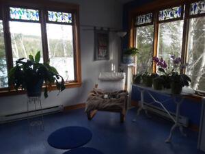 Jolie maison louer au bord du lac d' Alembert