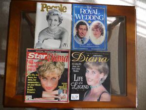 Memories of Princess Diana - 4 magazines