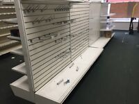 Store shelving and fixtures