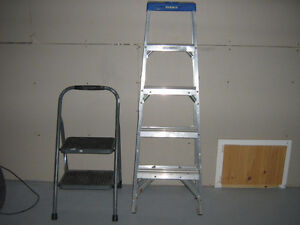 ladders and wet dry vac for sale