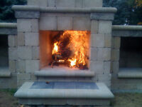 Outdoor Fireplace Kit