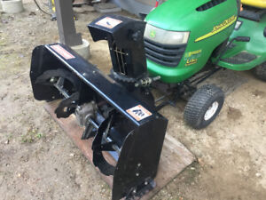 Snowblower, Blade, Chains for lawn tractor