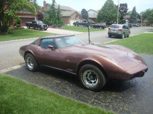 1978 Corvette -THE FASTER L82.