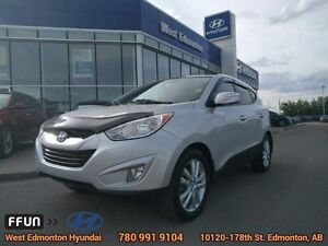 2012 Hyundai Tucson Limited AWD leather seats bluetooth sunroof