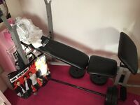 Pro fitness weight bench excellent condition £20