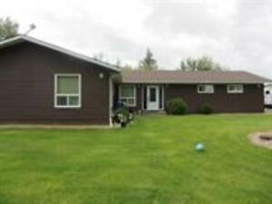 BEAUTIFUL 4 BED 3 BATH BUNGALOW N ACREAGE IN RURAL LAC STE ANNE