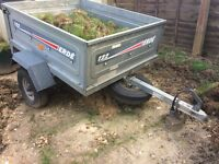 Erde 122 trailer with £100 worth of accessories