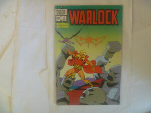 WARLOCK by Marvel Comics (several to choose from)