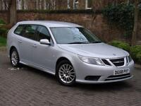 EXCELLENT DIESEL ESTATE!! 58 REG SAAB 9-3 1.9 TiD 150 LINEAR SE SPORTWAGON 5dr,