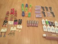 Job lot 57 miscellaneous beauty items and accessories
