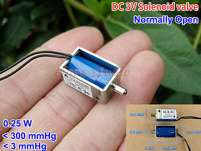 Dc3v Small Mini Electric Solenoid Valve Exhaust Valve Blood Pressure Monitor No