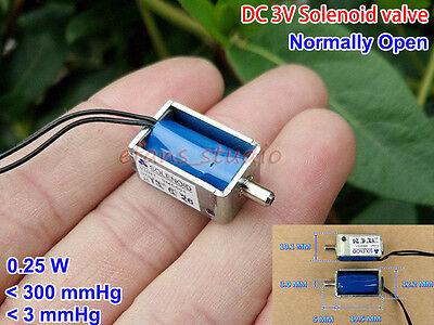 Dc3v Micro Mini Electric Solenoid Valve Air Fow Exhaust Valve Sphygmomanometer