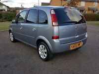 2005 Vauxhall meriva 1.6, low mileage, spacious familly mpv