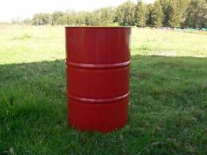 Empty 209lt Steel Oil Drum Annandale Leichhardt Area Preview