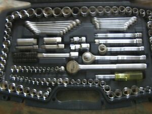 mastercraft socket set.