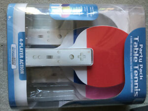 BRAND NEW - Wii PARTY PACK TABLE TENNIS EXTENSIONS - 4 PACK