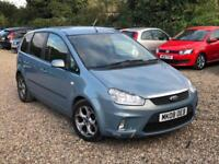 2008 FORD FOCUS C-MAX 1.6 16v 100 ZETEC PETROL ☆ LONG MOT ☆ BARGAIN