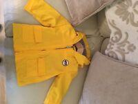Yellow waterproof jasper conran mac