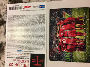 2 seats to TFC - Friday June 23rd