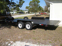 HYDRAULIC and TILT CAR / EQUIPMENT TRAILER  – FOR RENT