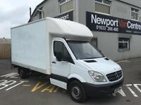 2007 MERCEDES-BENZ LWB LUTON WITH TAIL LIFT