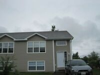 Newer 3 bedroom s/s semi in north end evergreen area.