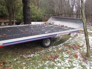 12' Snowmobile trailer