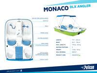 Pedal boat PELICAN MONACO DLX ANGLER 2015 - 5 places