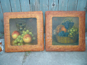 Original Paintings $40 each or both for $60. artist m. hall.