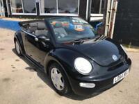 2004 Volkswagen Beetle 1.6 S Cabriolet 2dr Petrol Manual (187 g/km, 102