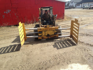 USED BALE SQUEEZE