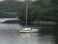 Leisure 23 sailing boat