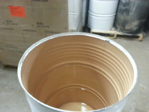 FOOD GRADE 55 Gallon Steel Drum / Barrel - Top open or Close