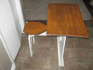 Handmade child's desk