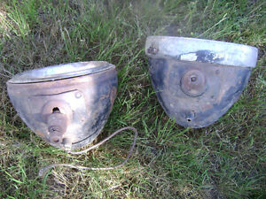 Vintage headlights car truck rat rod