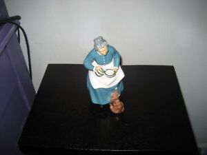 COLLECTIBLE ROYAL DOULTON FIGURINE & TALKING DOLL