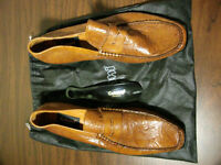 Brand new Brown-beige shoes and Black loafer size 10.5