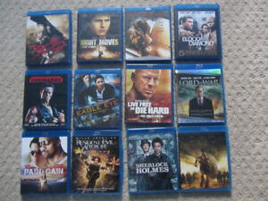 Action Movies on Blu-Ray - 12 To Choose From
