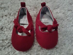 red shoes size 4