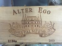 Wooden Wine Crates - For Rent