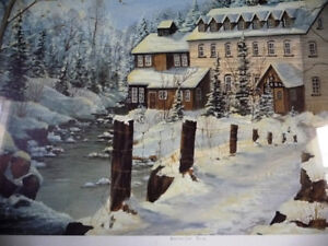 """Hand Signed and Numbered by Peter Robson """"Benmiller Inn"""" 1983 Stratford Kitchener Area image 9"""