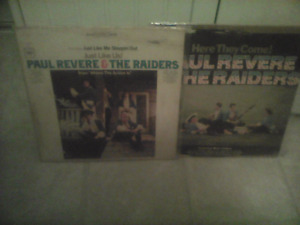 2 LP RECORDS Paul Revere and the Raiders -1966-LOOK